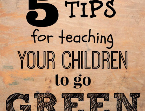5 Tips for Teaching Your Children to go Green