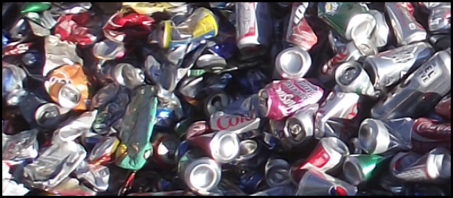 Aluminum Cans To Recycle For Decor