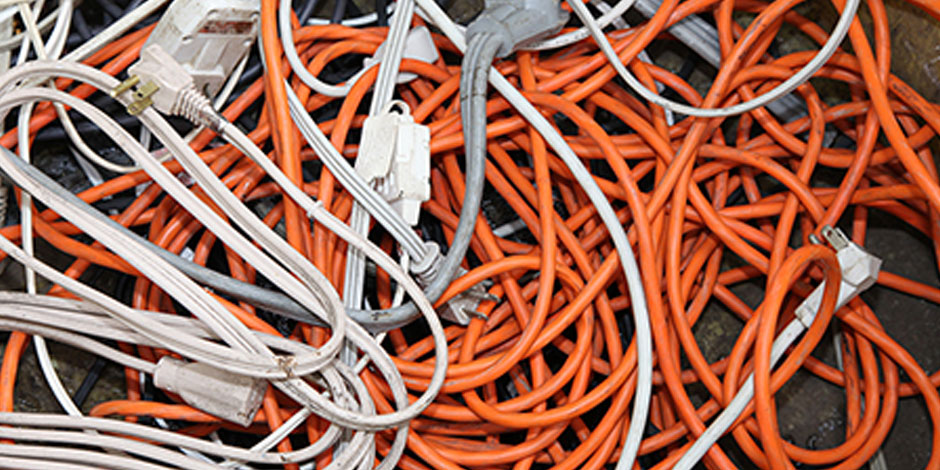 Extension Cord Recycling Services