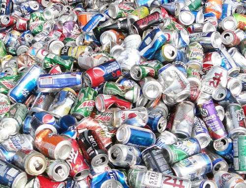 How many aluminum cans equal 1 pound?